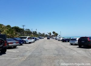parking lot capo beach capistrano beach dana point city guide