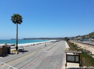 parking lot doheny state beach dana point city guide