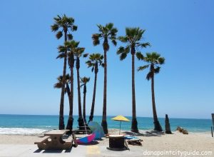 picnic tables doheny state beach south dana point city guide