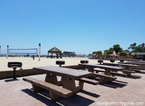 picnic benches doheny state beach north dana point city guide