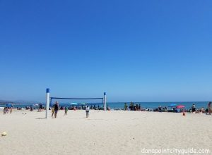 volleyball net doheny state beach north dana point city guide