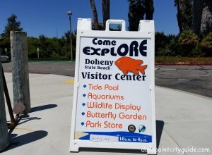 visitor center doheny state beach dana point city guide