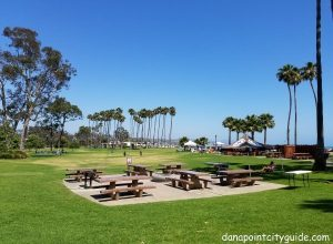 picnic tables doheny state beach north dana point city guide